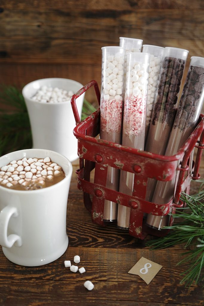 DIY Instant Hot Cocoa Tubes