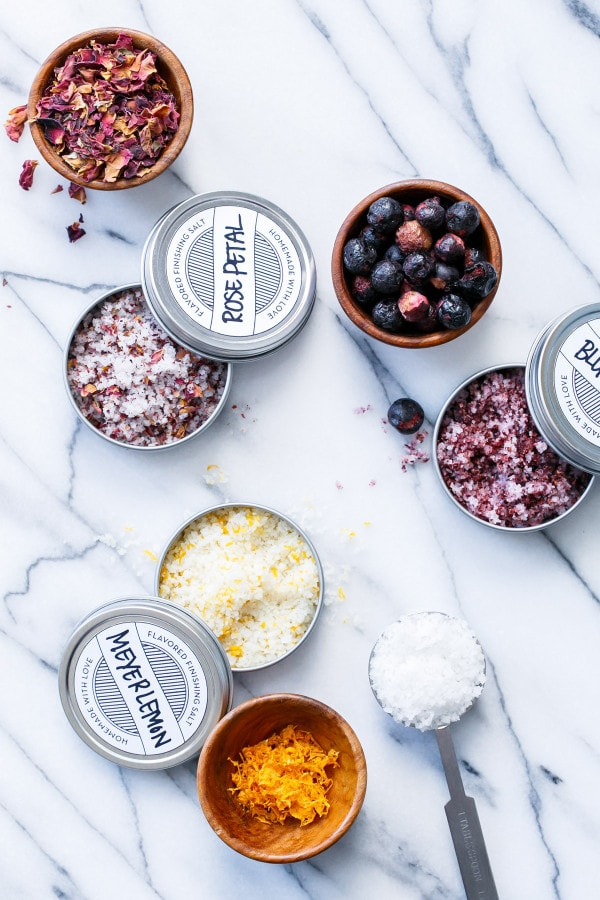 Easy Homemade Flavored Finishing Salts
