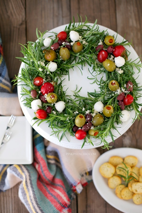 Easy Olives And Cheese Antipasto