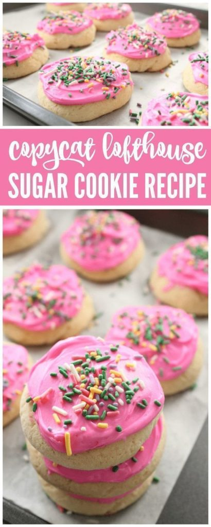 Copycat Lofthouse Sugar Cookie Recipe with Frosting